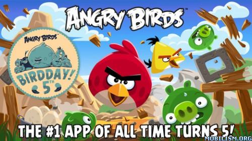 Angry Birds v6.1.2 [Mod PowerUps/All Unlocked/Ad-Free] Apk