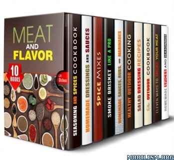 Download ebook Meat & Flavor BoxSet 10 in 1 by Amber Powell et al (.ePUB)