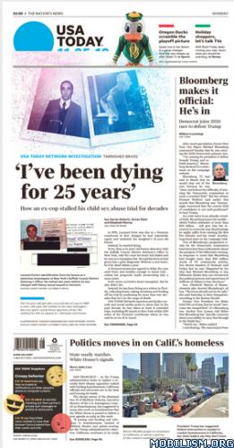 USA Today – 25 November 2019