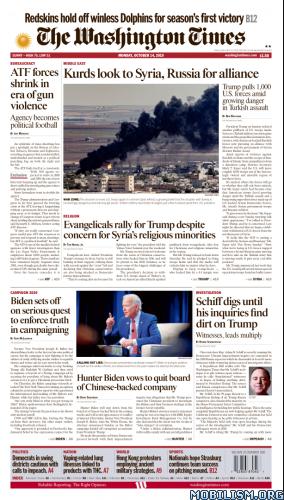 The Washington Times – 14 October 2019