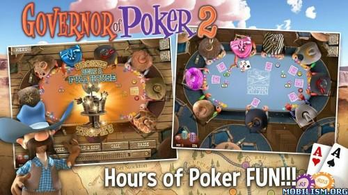 Governor of Poker 2 Premium v2.2.1 + (Mod Money) Apk