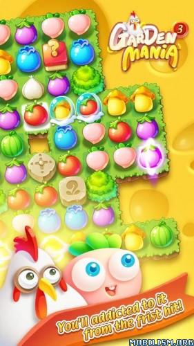 Garden Mania 3 New Free Game v1.3.5 [Mod] Apk