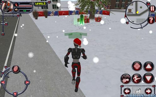 Christmas Rope Hero v1.0 (Mod Money) Apk