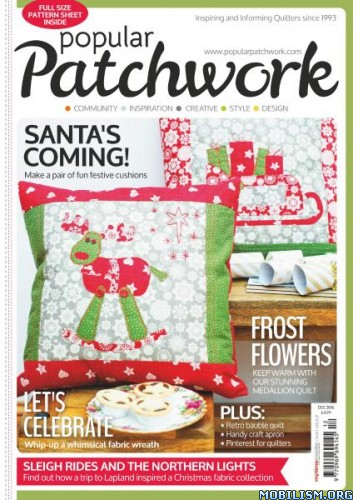 Download ebook Popular Patchwork - December 2016 (.PDF)