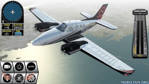 Flight Simulator X 2016 Air HD v1.3.4 Apk