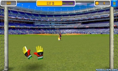 ESuper Goalkeeper - Soccer Game v0.70 [Unlimited Money] Apk