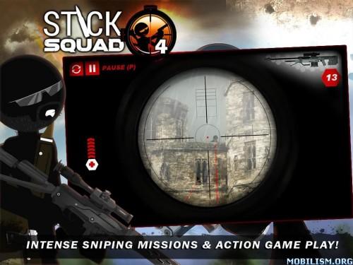 Stick Squad 4 - Sniper's Eye v1.2.4 (Mod Money) Apk