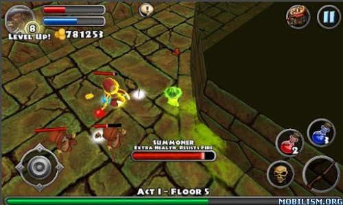 Dungeon Quest v2.0.0.7 (Free Shopping) Apk