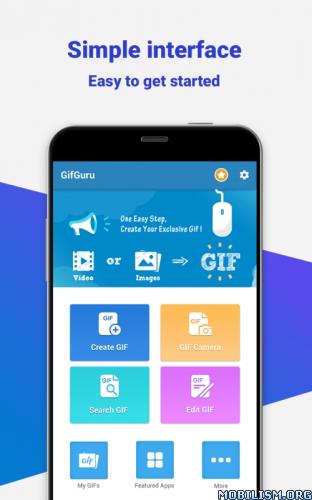 Download GIF maker, GIF editor with text, GIF camera, emoji
