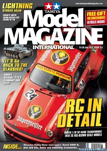 Download ebook Tamiya Model Magazine International - July 2017 (.PDF)