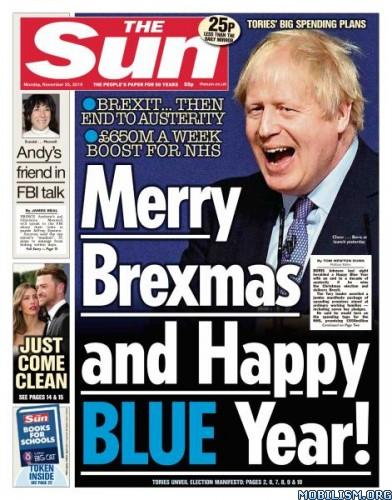 The Sun UK – 25 November 2019