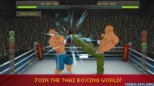 Thai Boxing League v1.1 [Mod Money] Apk