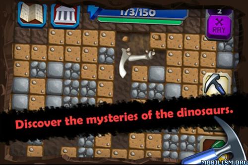 Dino Quest - Dinosaur Dig Game v1.5.7 (Mod) Apk