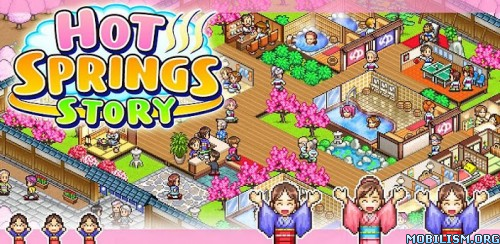 Hot Springs Story v2.3.7 + (Mod Money/Tickets) Apk