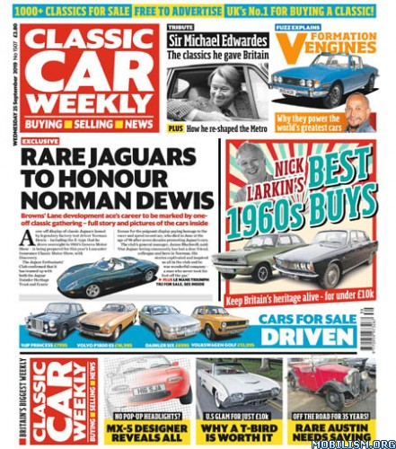 Classic Car Weekly – 25 September 2019