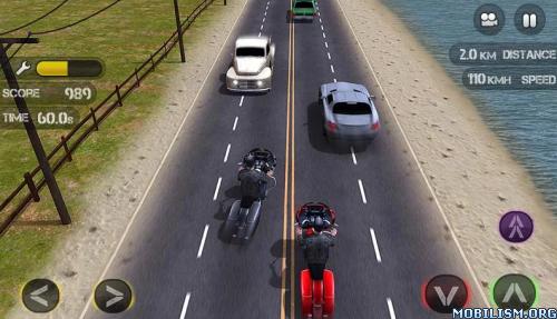 Race: The Traffic Moto v1.0.15 [Mod Money/Full/Ad-Free] Apk