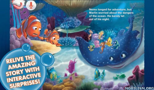 Finding Nemo: Storybook Deluxe v2.0 Apk