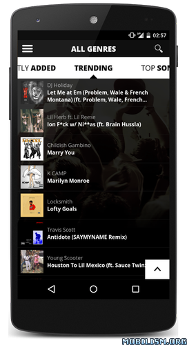 ?dm=HFMPSWOH Audiomack Free Music, Mixtapes v3.0.4 [Unlocked] for Android revdl Apps