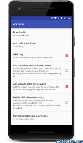 apk land blogs: EXTRA!!! arkTube v6 0 [Patched]Android APK FULL