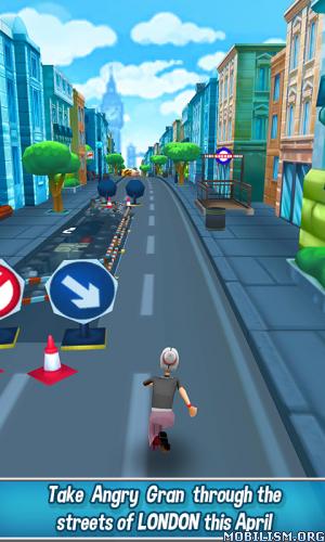Angry Gran Run - Running Game v1.37 (Mod Money/Unlocked) Apk