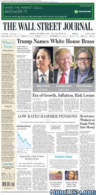 Download ebook The Wall Street Journal – 14 November 2016 / USA (.PDF)