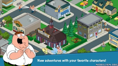 Family Guy The Quest for Stuff v1.13.7 (Free Shopping) Apk