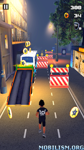 Black Star Runner v1.2 (Mod Hearts/Stars) Apk