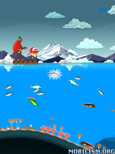 Fishing Break v1.0.0 (Mod Money/Items) Apk