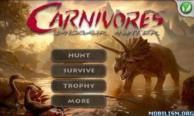 Carnivores: Dinosaur Hunter HD v1.6.5 (Mod) Apk