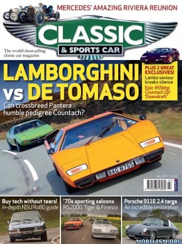 Download ebook Classic & Sports Car UK - July 2017 (.PDF)
