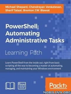 Download ebook PowerShell Administrative by Michael Shepard, et al (.PDF)