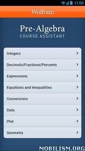 Pre-Algebra Course Assistant v1.0.4601042