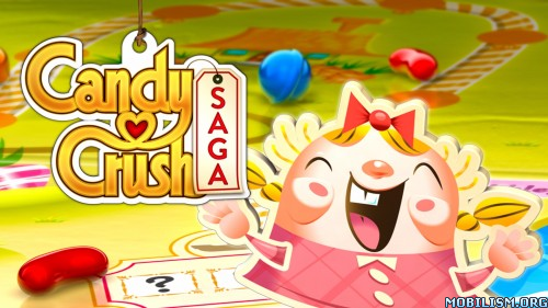 Candy Crush Saga v1.82.1.1 [Mods] Apk