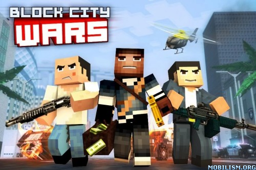 Block City Wars v5.1.4 (Mod Money) Apk