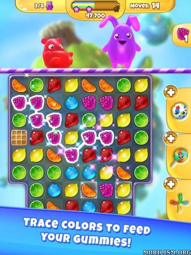 Yummy Gummy v2.51 (Mod Coins/Lives/100 Moves) Apk