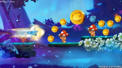Smurfs Epic Run v1.8.1 [Mod Gold] Apk