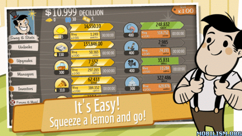 AdVenture Capitalist v3.0.2 (Mod Money) Apk