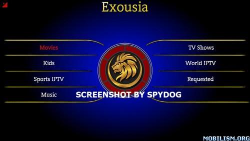 Exousia APK IPTV Mod Apk (Ads Free) 1