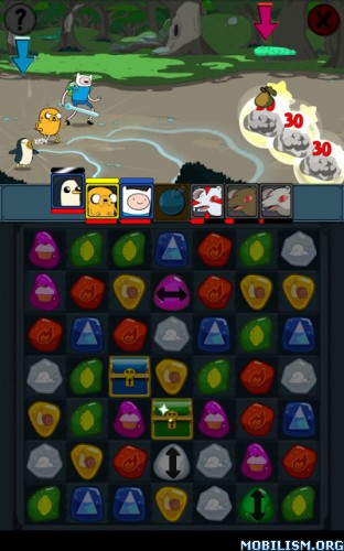 Adventure Time Puzzle Quest v1.6 [Mods]