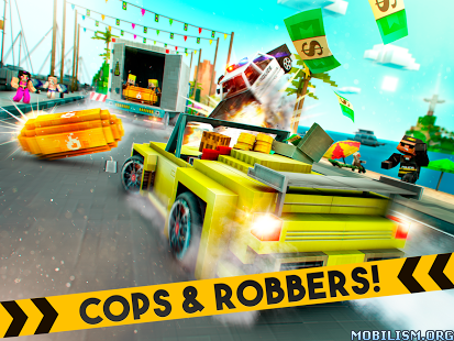 Robber Race Escape v2.11.0 (Mod Money) Apk