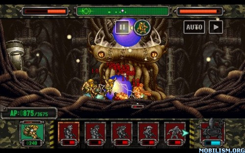METAL SLUG ATTACK v1.2.0 [Infinite AP] Apk