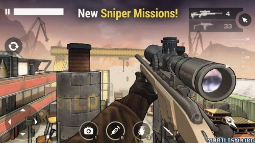 Major Gun : war on terror v3.7.6 [Mod] Apk