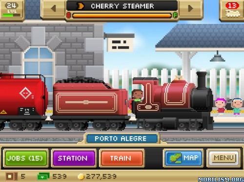 Pocket Trains v1.1.0 [Mod Money] Apk