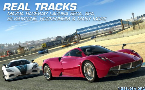 Descargar Real Racing 3 v1.3.0 Mod apk Android Full Gratis (Gratis)
