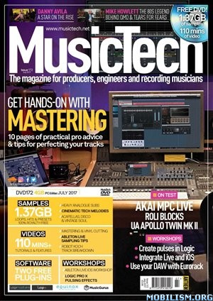Download ebook MusicTech - July 2017 (.PDF)
