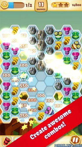 Bee Brilliant v1.30.1 (Mod Coins/Lives/VIP) Apk