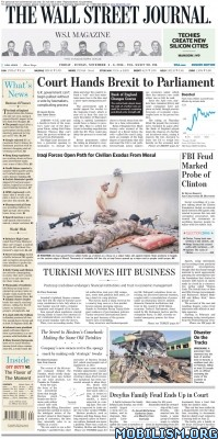 Download ebook The Wall Street Journal – 04 November 2016 / Europe (.PDF)