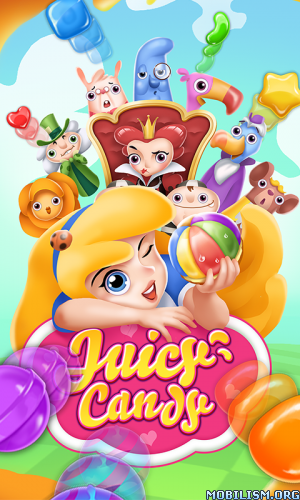 Juicy Candy Blast v1.301 [Mod] for Android revdl