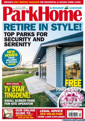 Download ebook Park Home & Holiday Caravan - July 2017 (.PDF)