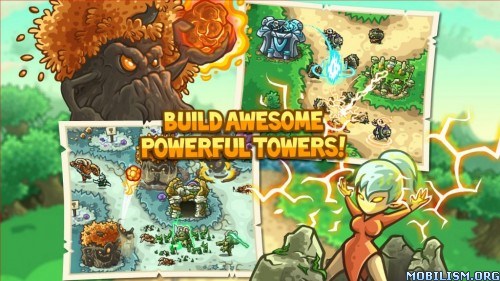 Kingdom Rush Origins v1.5.2 b1470420959 [Mod Gems/Heroes Unlocked] Apk